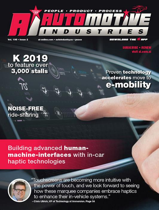Building advanced human-machine-interfaces with in-car haptic technologies