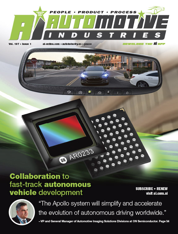 ON Semiconductor Ships 100 Million Image Sensors for Camera-based ADAS Systems in Support of Custome
