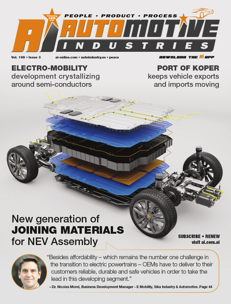 New generation of JOINING MATERIALS for NEV Assembly
