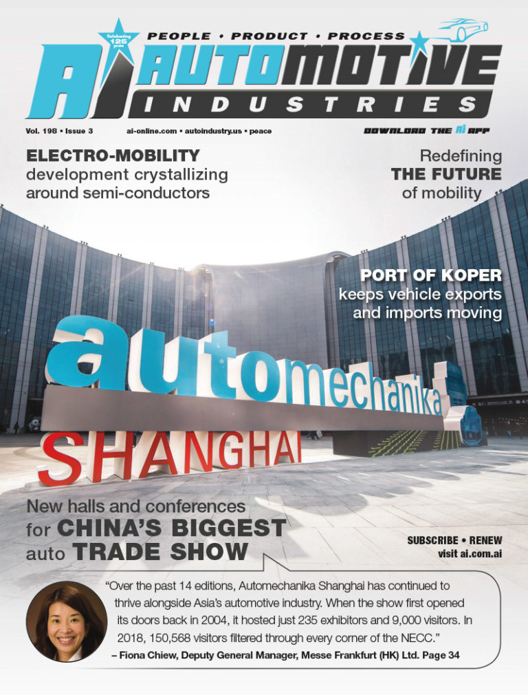 Participation skyrockets as the 15th edition of Automechanika Shanghai 2019 draws to a close