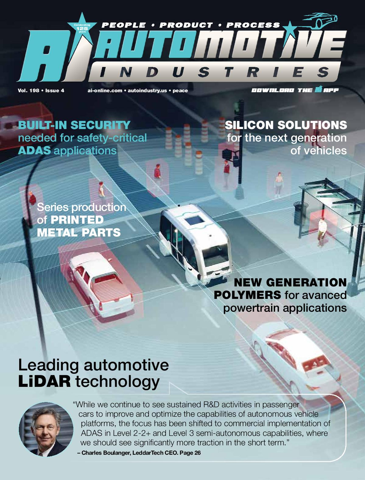 LiDAR technology comes of age