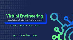 For further information on Virtual Engineering 2020 or to register for as a delegate, visit: www.ricardo.com/ve
