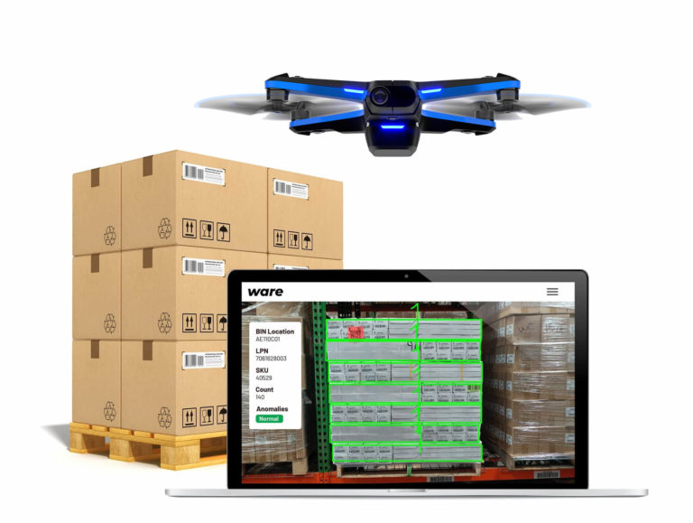 Ware Launches Drone-based Inventory Automation for $1.9T Warehousing Industry